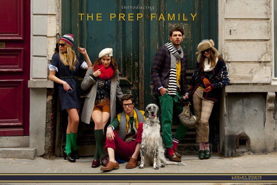 Fullscreen zicht The Prep Family